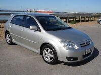 2005 Toyota corolla 1.6, 75k, One owner from new!! Lovely example, S/H, Mot