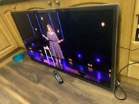 "60"" Panasonic 3D smart tv"