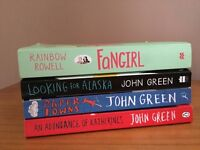 Teen / young adult novels / books - John Green