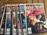 Nth-Man-The-Ultimate-Ninja-1-16-Complete-Marvel-Series 1989