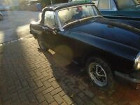 mg midget 1979 convertable 1500cc mot nov