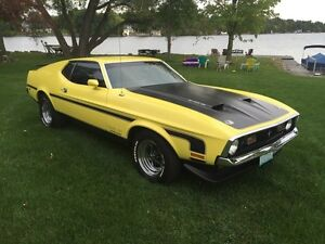 1971 Ford Mustang 1971 Mustang Fastback