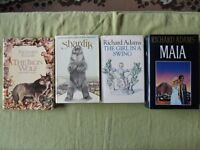 RICHARD ADAMS BOOKS - ALL EXCELLENT CONDITION - SEE DETAILS / IMAGES.