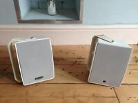 Tannoy wall mounted speakers