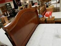 Beautiful solid wood double bed