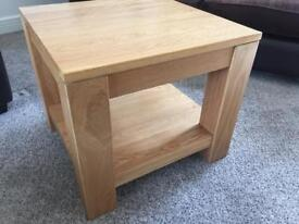 Solid Oak Side Table