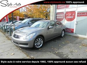 2007 Infiniti G35 Sedan X LUXURY CUIR TOIT