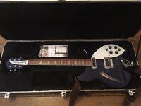 Rickenbacker 360 in Midnight Blue (Right-handed, 2006 model) - £1400