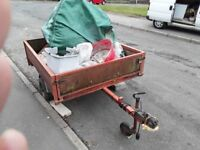 SMALL TRAILER FOR SALE AS NO LONGER NEEDED