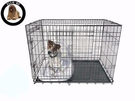 Ellie-Bo Dog Crate (XL) and Accessories