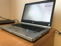 HP Elitebook Laptop - i5 processor, 8gb ram, 320gb hdd, Windows 10