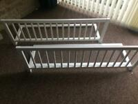 Child baby safety bed guard rail