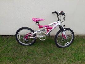 Girls bike 5 gears on handle