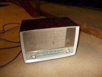 "VINTAGE EKCO A455 MODEL TRANSISTOR RADIO "" WORKING """