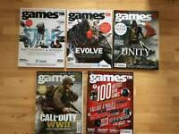 Collection of Games TM Magazines