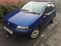 2003 fiat punto 1.2 active sport, first car ,cheap to run