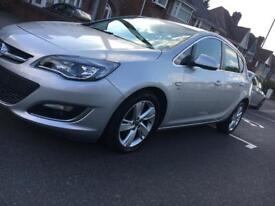 2012 VAUXHALL ASTRA 1.6SRi 5DR SILVER AUX CRUISE LOW MILES CAT D