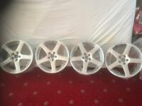 **LOOK KHAN RSR 18inch ALLOYS! LOOK!**