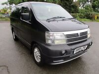 1997 NISSAN ELGRAND HOMY 3.2 AUTO DIESEL 8 SEATER ALLOYS TINTED WINDOWS LONG MOT 4/17 LOVELY PX SWAP