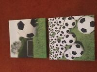 Kids Canvas Pictures Football