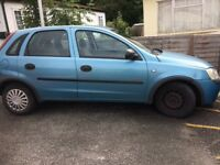 Vauxhall Corsa for spares/repairs