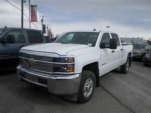 2015 Chevrolet SILVERADO 2500HD WT | Crew Cab | Power L/ W | 4WD