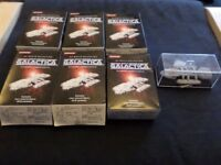 Konami Battlestar Galactica Figures Bundle - Very Rare