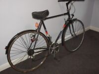 Peugeot 28'' {Vintage} adult bicycle, Black, 10 speed, Serviced, deep cleaned, ready to ride. £85.00