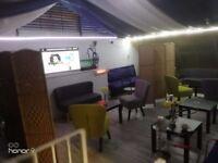 Coffee shop and shisha lounge for sale