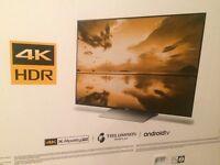 """BRAND NEW - Sony Bravia 55"""" 4K TV, Unopened Box"""