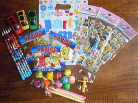 Prefilled birthday party bags / Favour bags / Loot bags