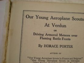 o ur young airplane scouts at verdun 1917