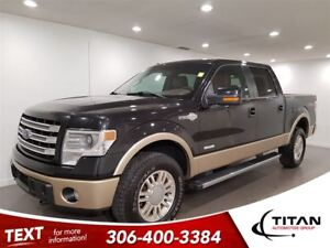 2014 Ford F-150 Supercrew King Ranch|Bluetooth|Nav|Cam