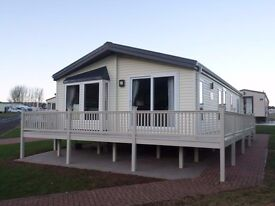2012 Willerby Boston Lodge for sale at Chesterfield Country Park in Berwickshire/East Lothian