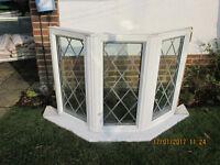 Double glazed bay window
