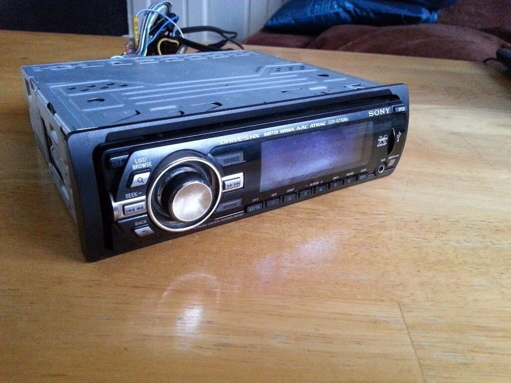 sony cdx gt828u car stereo in livingston west lothian. Black Bedroom Furniture Sets. Home Design Ideas