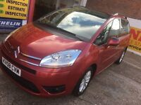 2008 CITROEN C4 GRAND PICASSO 1.6 HDI DIESELMANUAL 7 SEATER 1 OWNER HPI CLEAR