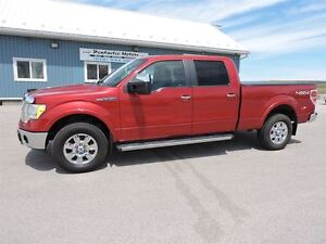 2010 Ford F-150 Lariat,SREW,4X4,LEATHER,SUNROOF,LOADED!!