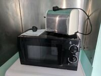 Microwave and Toaster FOR SALE