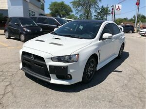 2015 Mitsubishi LANCER EVOLUTION GSR Premium, Bluetooth, RockFor