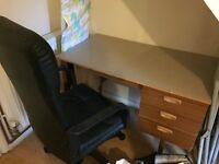 Desk/ wardrobe / chair