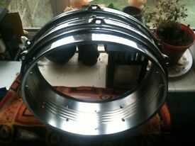 Steel Snare Drum (Shell & Hoops only)