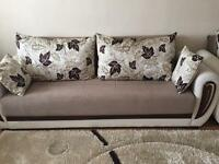 1,2,3 sofa beds sale House clearance, in good and clean condition