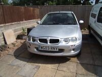Rover MG 2000cc diesel 65000 miles Silver