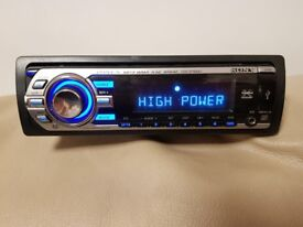 CAR HEAD UNIT SONY XPLOD CD MP3 PLAYER WITH USB AUX AND PRE-OUT 4 x 52 WATT STEREO AMPLIFIER RADIO