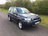 Land Rover Freelander 2005 2.0 TD4 DIESEL SE Station Wagon 5dr. 1 YEARS MOT.FULL SERVICE HISTORY .