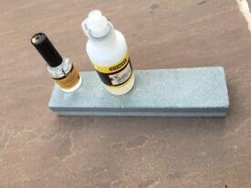 Sharpening Block plus Rolson liquid plus...