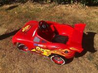 Cars Lightning McQueen ride on car 6v