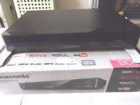 Panasonic DMP-BD84 Network BluRay DVD player - USB, apps (NetFlix, BBC iPlayer etc) - new condition
