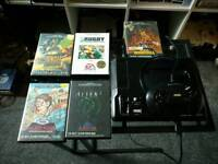 Sega Mega Drive with 5 Games